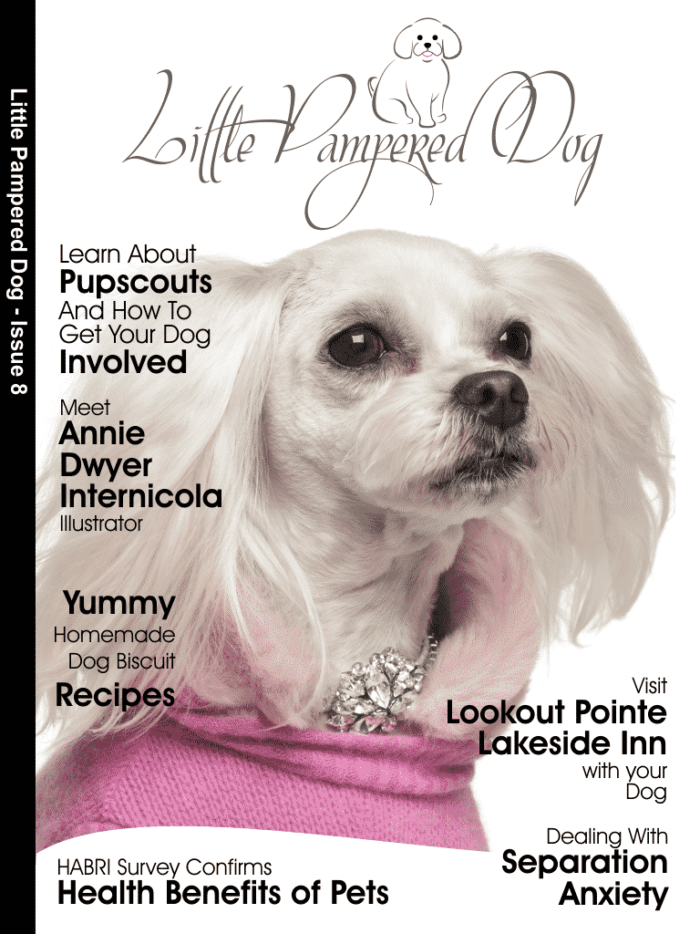 Little Pampered Dog Issue 8