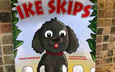 025 – A Boy and His Dog Inspired a Book – Interview with Julie Duncan Author of Ike Skips